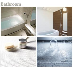 リノベーション仕様-バスルーム-